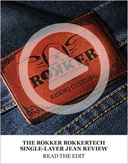 Rokker Rokkertech single-layer jean review