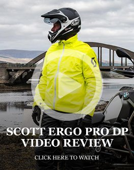 Scott Ergo Pro DP rainwear review
