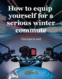 How to equip yourself for a serious winter commute
