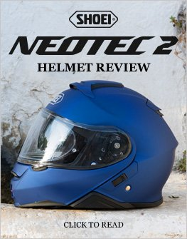 Shoei Neotec 2 helmet review