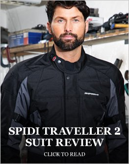 Spidi Traveller 2 suit review