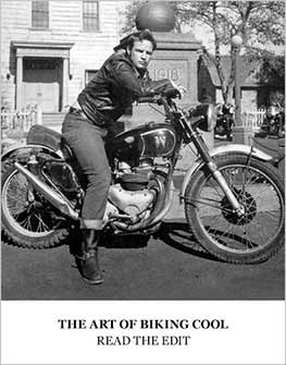 The Art of Biking Cool