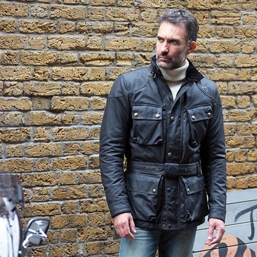Belstaff Trialmaster Wax Black Jackets