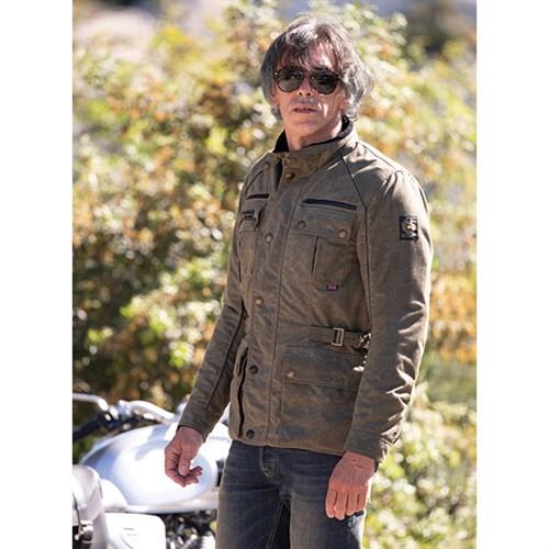 para toda la familia gran selección de más vendido Belstaff Tourmaster Pro wax cotton jacket in military green