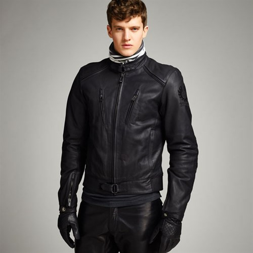 Belstaff Lavant Leather Jacket - Black