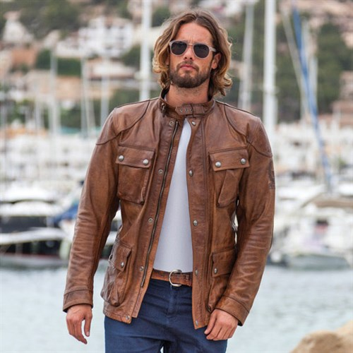 Belstaff Aintree leather jacket