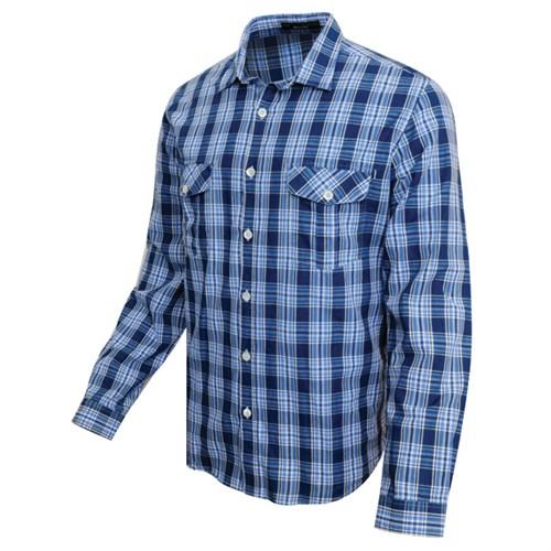 Barbour Steve Mcqueen Buffalo Shirt Indigo