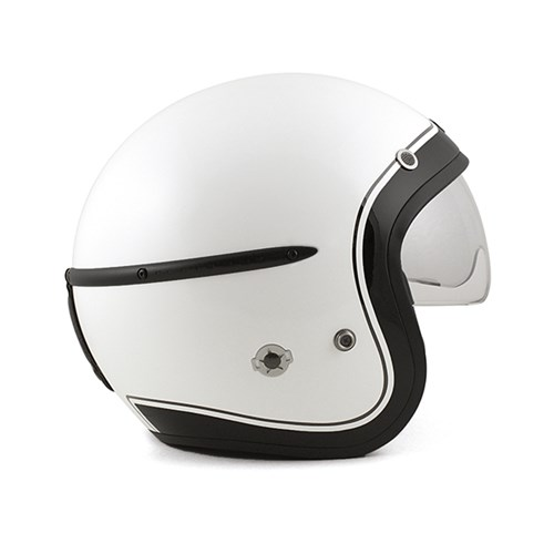 harisson corsair helmet in white. Black Bedroom Furniture Sets. Home Design Ideas