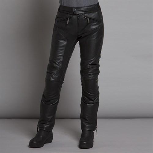 a05853cfc55 Halvarssons Tengil ladies leather trousers in blackAlternative Image2