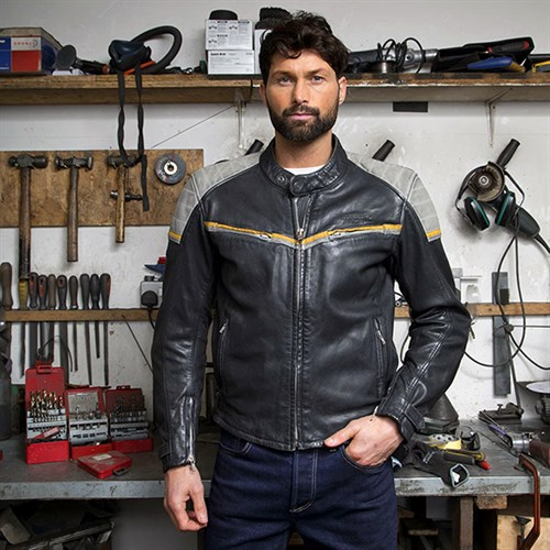 Halvarssons Eagle leather jacket