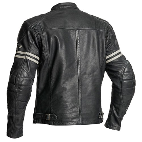 Halvarssons Dresden leather motorcycle jacket