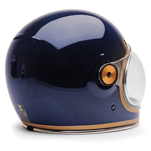 Bell Bullitt Carbon Candy Blue HelmetAlternative Image2