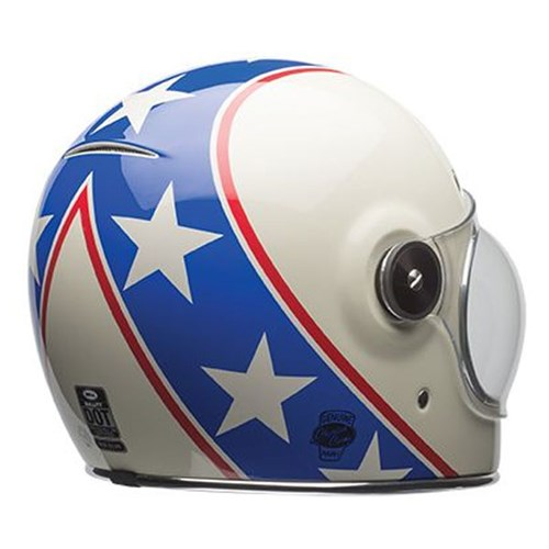 Bell Bullitt Chemical Candy Blue White HelmetAlternative Image2