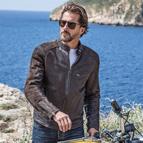 Rokker Café Racer leather jacket