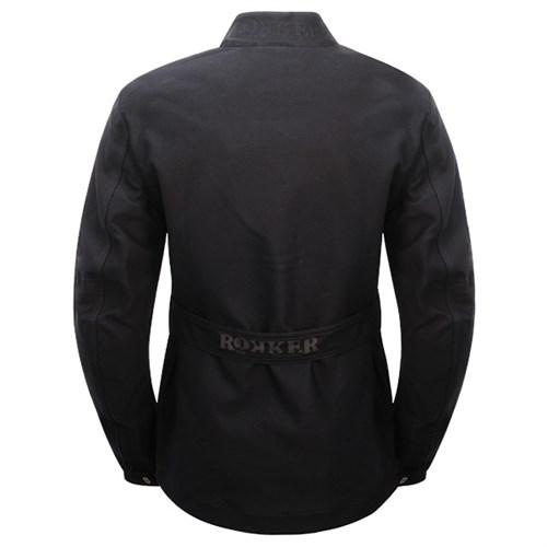 Rokker Black Jacket Long