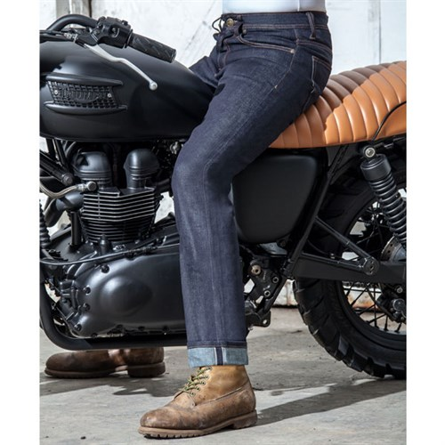 resurgence cafe racer selvedge raw jean