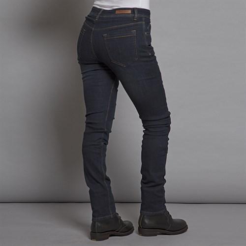 Resurgence Heritage ladies skinny jeans in blue old school