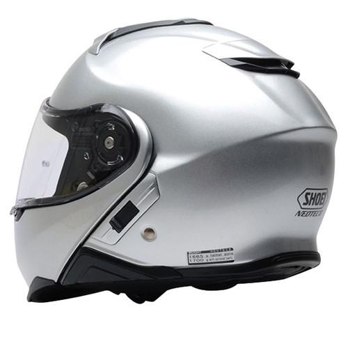 a4b54a13 Shoei Neotec 2 helmet in light silverAlternative Image1