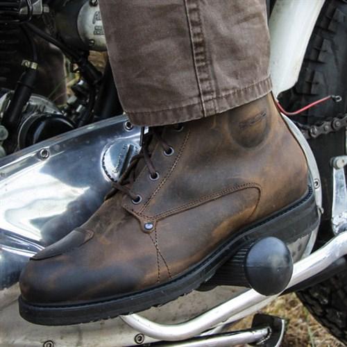 brown TCX X-Blend waterproof boots