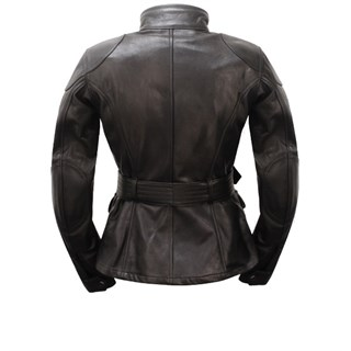 Belstaff Trialmaster ladies leather jacket in blackAlternative Image1