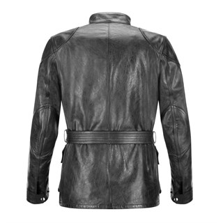 Belstaff Trialmaster wax cotton ladies jacket in blackAlternative Image1
