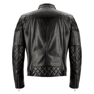 Belstaff Ivy leather jacket in blackAlternative Image1