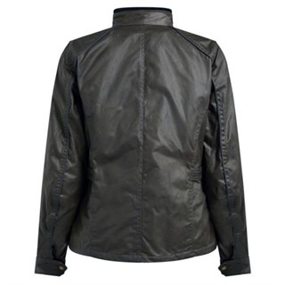 Belstaff Tourmaster Pro wax cotton ladies jacket in blackAlternative Image1