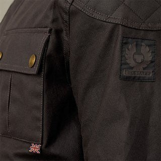 Belstaff Brooklands Mojave 2.0 jacket in mahoganyAlternative Image2