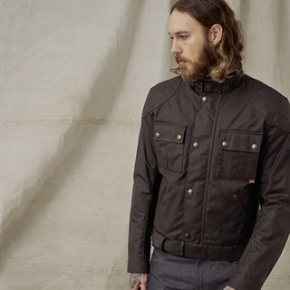 Belstaff Brooklands Mojave 2.0 jacket in mahoganyAlternative Image3