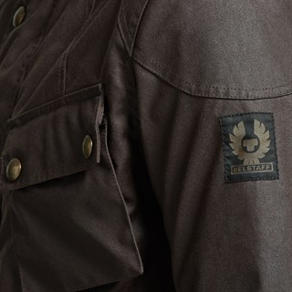 Belstaff Crosby jacket in mahoganyAlternative Image1