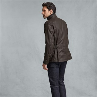 Belstaff Crosby jacket in mahoganyAlternative Image2