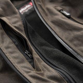 Blauer Indirect Wax Cotton Jacket In Brown