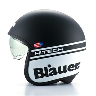 Blauer Pilot 1.1 helmet in matt black / whiteAlternative Image1