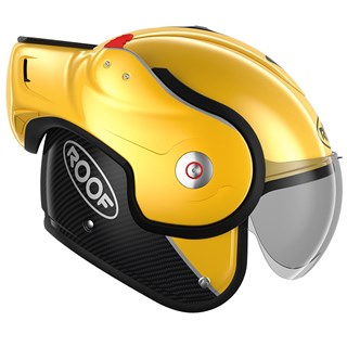 Roof Boxxer Carbon UNI helmet in yellowAlternative Image3