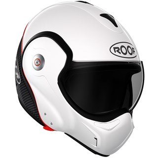 Roof Boxxer Carbon UNI helmet in pearl whiteAlternative Image1