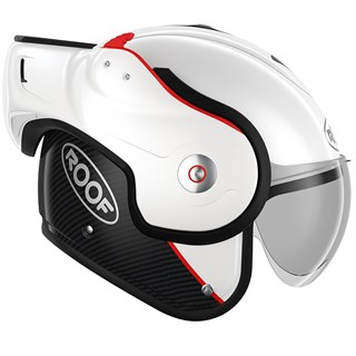 Roof Boxxer Carbon UNI helmet in pearl whiteAlternative Image3
