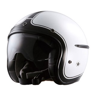 Harisson Corsair helmet in whiteAlternative Image1