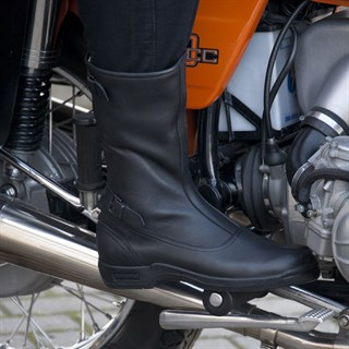 Daytona Classic Old Timer Motorcycle boots in blackAlternative Image1
