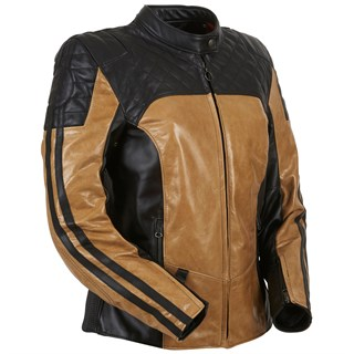 Furygan ladies Legend jacket in honeyAlternative Image2