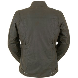 Furygan Thruxton wax cotton jacket in brownAlternative Image1