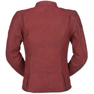 Furygan Debbie Ladies jacket in redAlternative Image2
