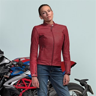 Furygan Debbie Ladies jacket in redAlternative Image3
