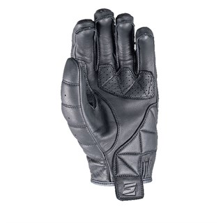 Five California leather gloves in blackAlternative Image1