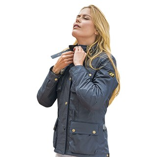 Garibaldi ladies Heritage 72 jacket in navyAlternative Image2