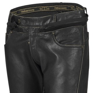 Halvarssons Hawk Classic trousers in black Alternative Image1