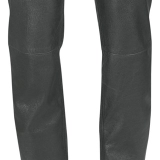 Halvarssons leather jeans in black Alternative Image2