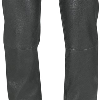 Halvarssons ladies leather jeans in black Alternative Image2