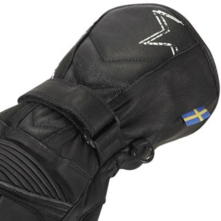 Halvarssons Roadstar ladies gloves in blackAlternative Image2