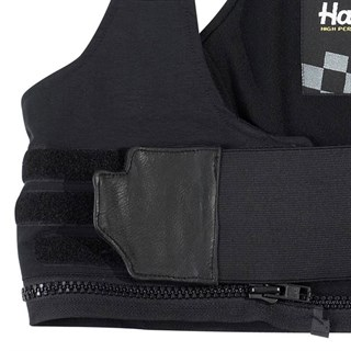 Halvarssons ladies Bib Braces in black Alternative Image1