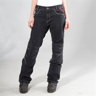 Halvarssons Wrap ladies jeans in blackAlternative Image2
